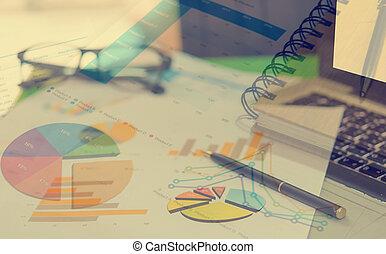 conceito negócio, relatório