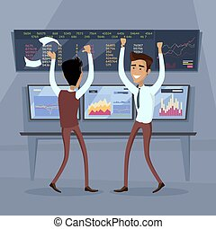 conceito, negócio, sucesso, trabalho, vetorial, equipe