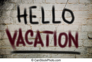 conceito, olá, férias