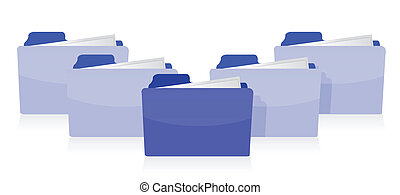 conceito, organizado, documentos