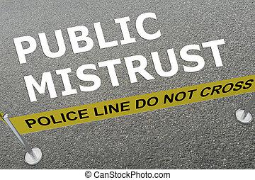 conceito, público, desconfiança