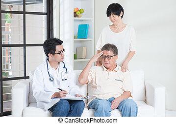 conceito, pais, cuidados de saúde