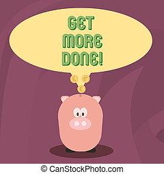 conceito, palavra, negócio, adquira, texto, trabalho, organizado, lista de verificação, escrita, início, gerência, act., tempo, done., difícil, mais