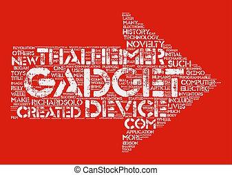 conceito, palavra, texto, fazer, dispositivos, como, fundo, nuvem, história
