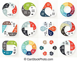 conceito, partes, abstratos, 6, processes., set., gráfico,...