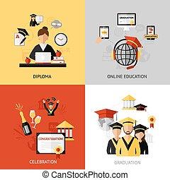 conceito, projeto fixo, graduação