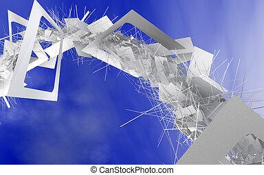 conceito, reciclagem papel
