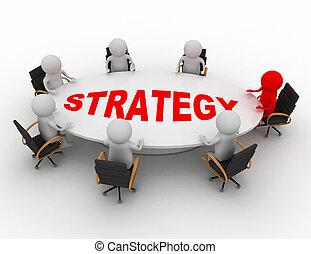 conceito, reunião, negócio