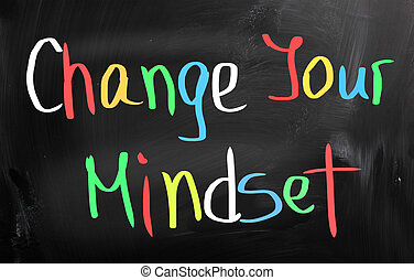 conceito, seu, mudança, mindset