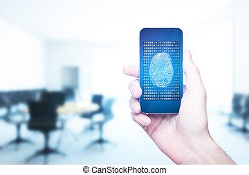 conceito, tecnologia,  innovartion