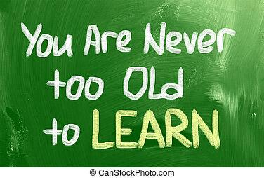 conceito, tempo, aprender