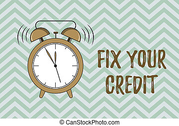 conceito, texto, dificuldade, credit., escrita, crédito,...