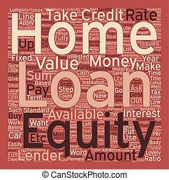 conceito, texto, empréstimo, wordcloud, fundo, capital ...