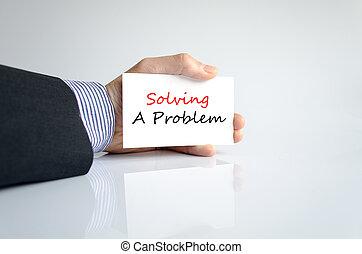 conceito, texto, resolver problema