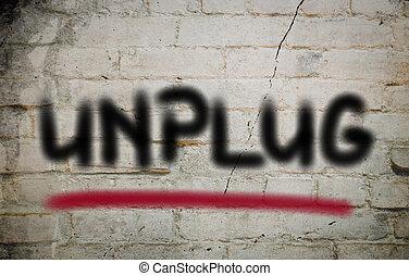 conceito, unplug