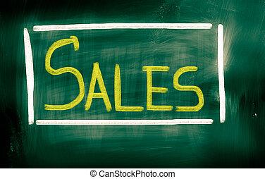 conceito, vendas