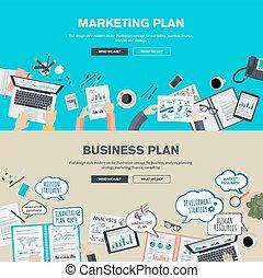 conceitos, marketing, negócio