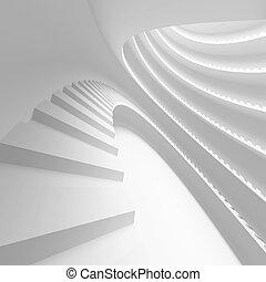 conceitual, arquitetura, desenho