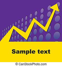 conceitual, gráfico, negócio