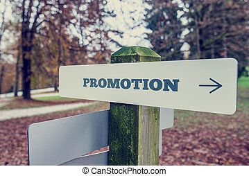 Conceitual, imagem, palavra, promoção