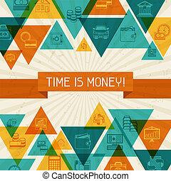 conceitual, operação bancária, negócio, experiência.