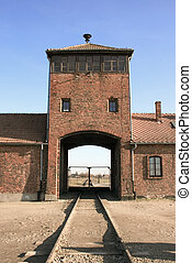 concentration camp in Poland - The concentration camp of...