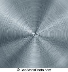 concentric brushed metal texture