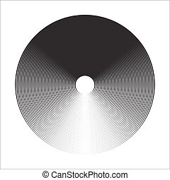 Concentric Circle Elements Backgrounds. Abstract circle...
