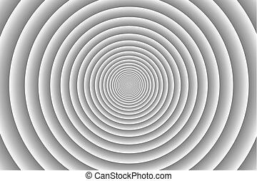 Concentric circle pattern - Concentric circle elements gray...