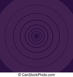 Concentric Circle Pattern Round Shape in Violet Monochrome with Depth and Perspective. Creative Background Idea for Games and Sports Competition, Modern Design, Cycle Presentation.