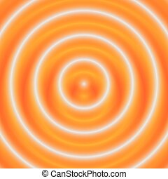 Concentric circles circular pattern. abstract monochrome...