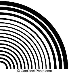 Concentric circles, concentric rings circular pattern....