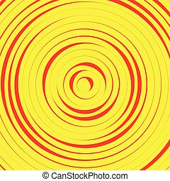Concentric circles, rings abstract pattern. Suitable as backgrounds or elements.