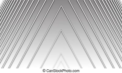 concentric geometric shapes - ascending white angle in ...