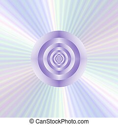 Concentric Rings Star-burst