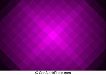 Concentric square red vector pattern - Diagonal lines,...