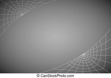 concentric white web on a gray background - concentric web...
