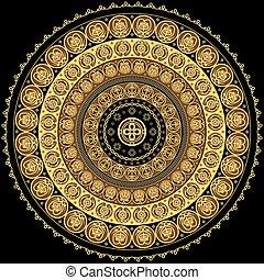 concentrico, ornamento