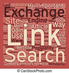 concept, échange, texte, wordcloud, mort, lien, fond