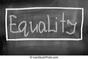 concept, égalité