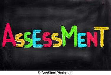 concept, évaluation