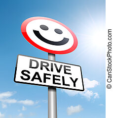 concept., ακίνδυνος , οδήγηση