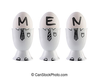 concept., αυγά , άντρεs