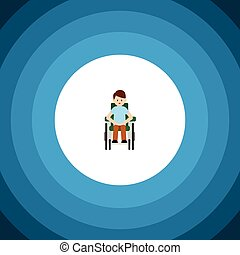 concept., προσιτός , μικροβιοφορέας , ανάπηρα , γίνομαι , icon., άντραs , πρόσωπο , ανάπηρος , απομονωμένος , στοιχείο , μεταχειρισμένος , μπορώ , σχεδιάζω , διαμέρισμα