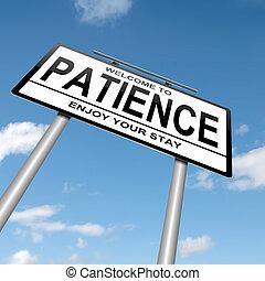 concept., терпение