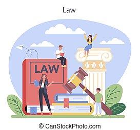 concept., クラス, education., 法律, 罰, 有罪, 判断