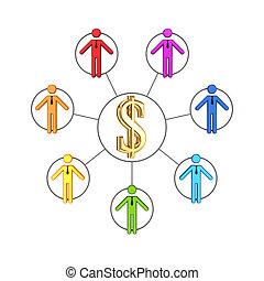 concept., ネットワーク, ビジネス