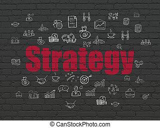 concept:, 作戦, 背景, ビジネス, 壁
