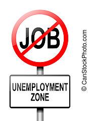 concept., 失業