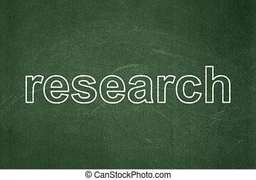 concept:, 広告, 黒板, 背景, 研究